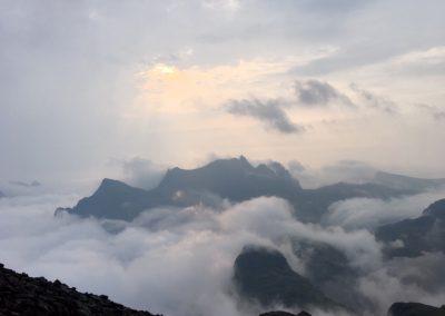 Boven de wolken Lofoten
