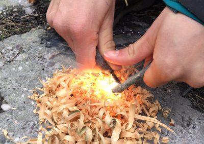 vuur maken