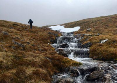 Beklimming Cairngorm top