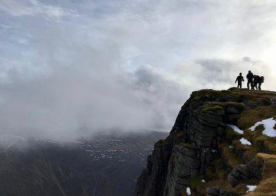 Schotland Sgor Gaoith
