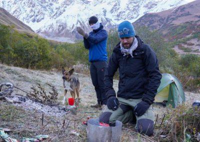 Koken brander Kaukasus