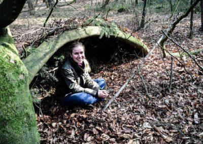 natuurlijke shelter