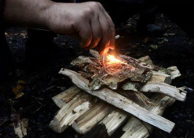 zwitsers vuur maken